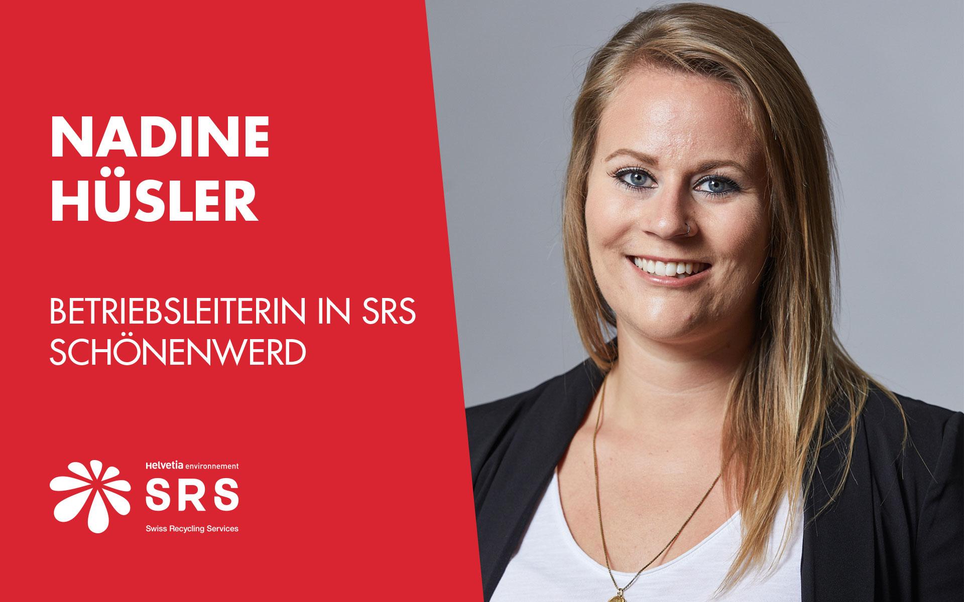 Interview mit Nadine Hüsler, Betriebsleiterin in SRS Schönenwerd,